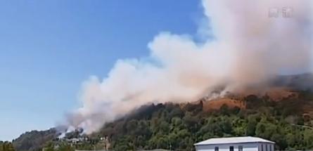 强风引发山火蔓延 新西兰南岛避难人数料再增加