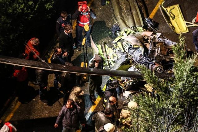 一架军用直升机在伊斯坦布尔坠毁 4名军人死亡