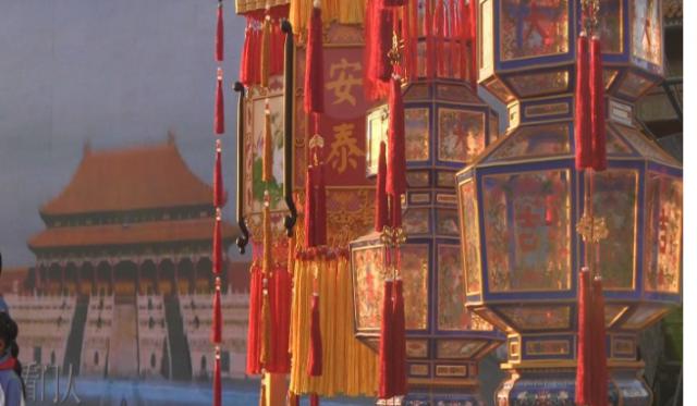 故宫博物院举行公益拍卖 天灯复原品拍价逾千万