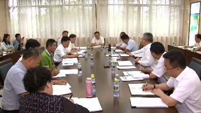沈晓明在参加省委七届六次全会分组讨论时指出:充分调动市县积极性  推动各项工作落到实处