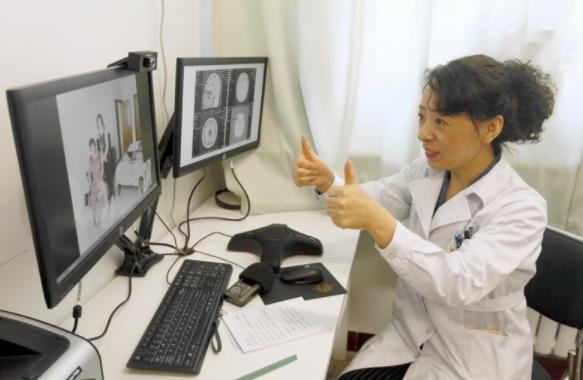 家門口看名醫!全國三甲醫院均開展遠程醫療 覆蓋所有貧困縣縣醫院