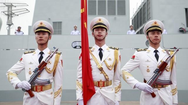 中国人民解放军海军成立70周年多国海军活动海上阅兵圆满结束