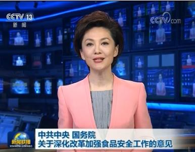 中共中央 国务院关于深化改革加强食品安全工作的意见