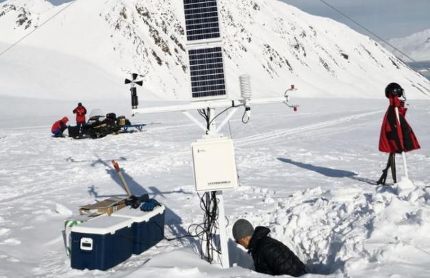 我国首个北极科考站——黄河站开始今年考察任务