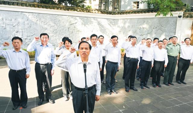 刘赐贵:传承琼崖革命红色基因 勇担海南全面深化改革开放使命