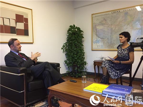巴西駐華大使:我癡迷中國,是北京烤鴨店的常客