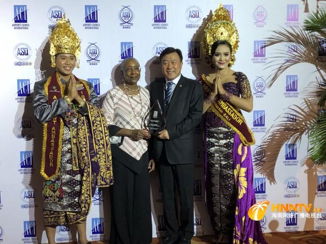 三亚凤凰机场荣膺国际机场协会2018年度两项世界大奖