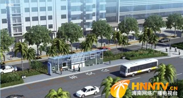 涵盖这些路段!海口第二期公交专用道示范项目启动