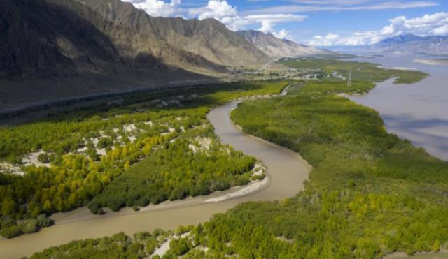 荒漠变绿洲 穷乡变富地——雅鲁藏布江山南段40年造林治沙报告