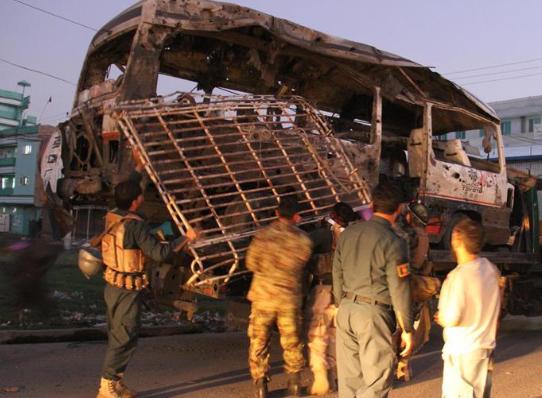 阿富汗东部炸弹袭击致死10人