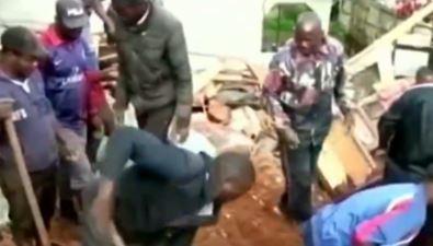 连降暴雨导致泥石流灾害 喀麦隆山体滑坡至少40人亡