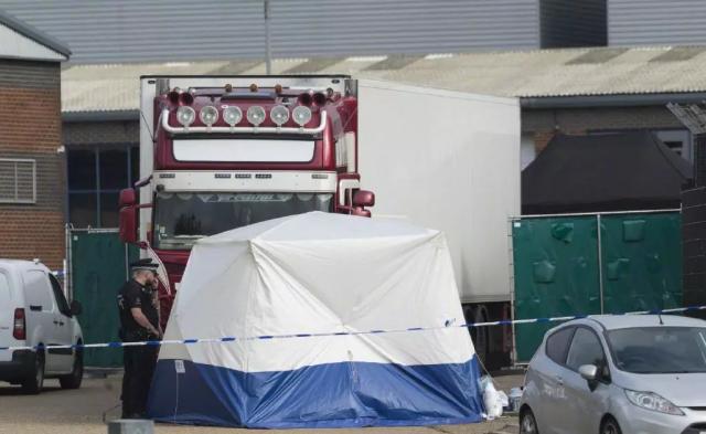 越南公安部确认货车案39名遇难者全部为越南公民