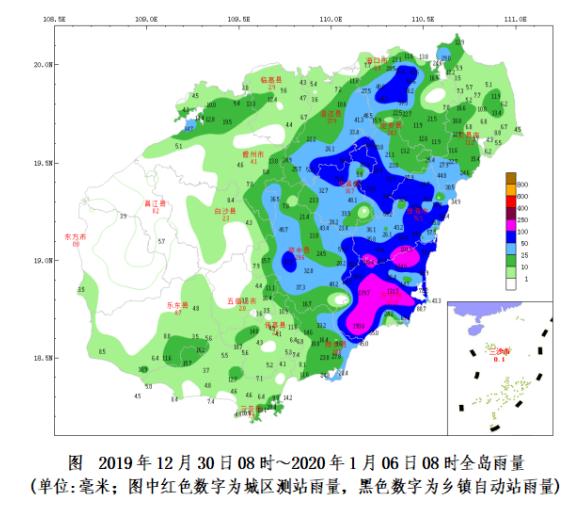 琼岛本周前期有雾 中期有小阵雨 后期有小雨 局地中到大雨