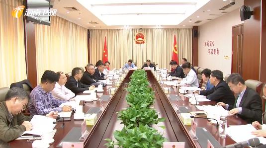 沈晓明到省人大常委会征求政府工作报告意见时表示:要将制度创新贯穿2020年政府工作的始终