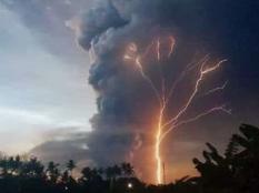 菲律宾火山喷发,八千居民撤离