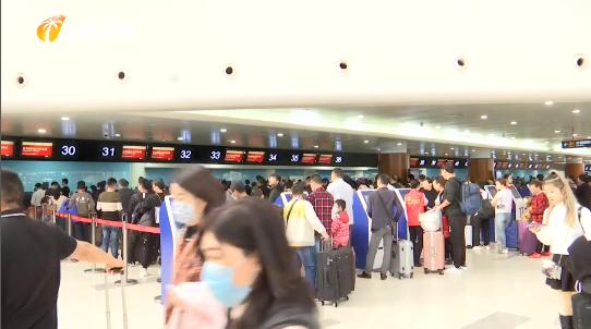 """防控""""新型冠状病毒肺炎疫情"""" 海南机场 码头启动体温检测 并指定两家收治医院"""
