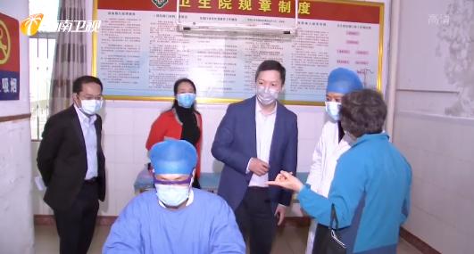 國務院應對新冠肺炎疫情聯防聯控機制工作指導組繼續在瓊指導工作