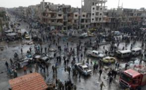 叙利亚政府军一直升机在阿勒颇省被导弹击落