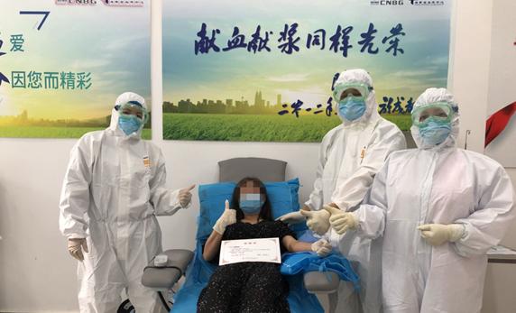"""海南今日又有两名新冠肺炎康复者成功捐献抗""""疫""""血浆"""