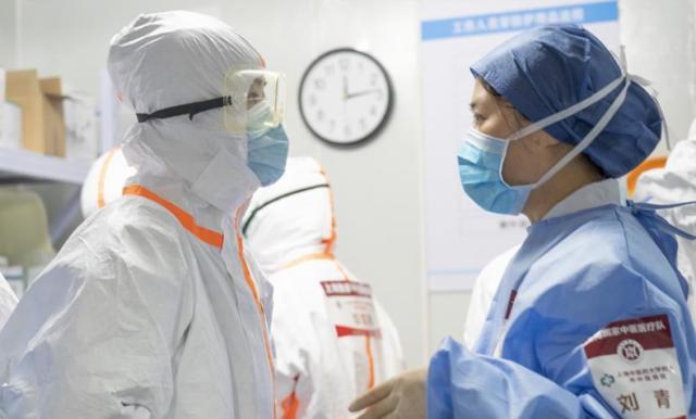 武汉雷神山医院:第四批国家中医医疗队(上海)最后一班岗