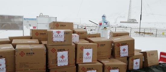 中國政府援助塔吉克斯坦新冠病毒檢測試劑完成交接