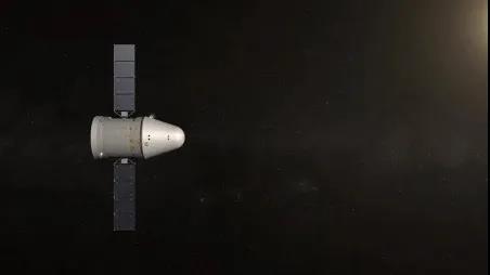 我国新一代载人飞船试验船返回舱成功着陆 试验取得圆满成功