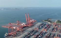 来自海南自贸港建设一线的声音 洋浦小铲滩起步工程能力提升项目开工 码头集装箱年通过能力将提升至180万标准箱