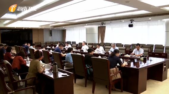 沈晓明在与新闻媒体记者座谈时指出:推动媒体在自贸港建设中发挥更大作用