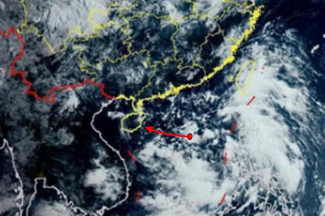 注意!南海热带低压或于明天生成!海南部分地区将迎强风雨