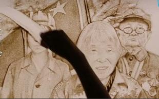 每一帧都值得铭记!用沙画的方式致敬中国军人