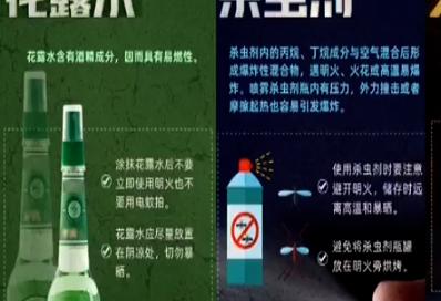 这些常用物品都是危化品 存放使用需注意这些