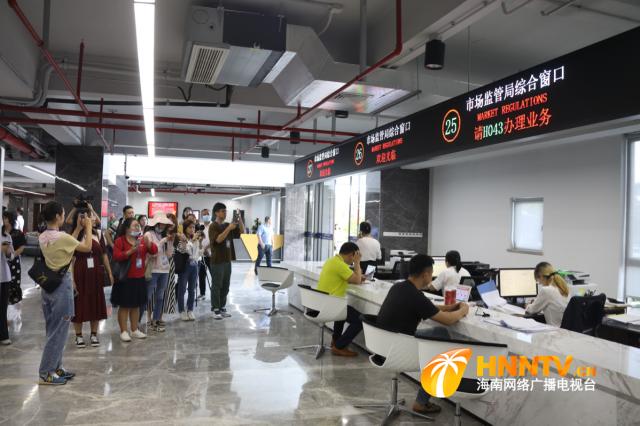 行走自贸区|走进海口江东新区、复兴城互联网信息产业园 感受自贸港建设正提速腾飞