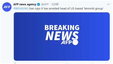 """外媒:伊朗称其逮捕了美国支持的""""恐怖组织""""头目"""