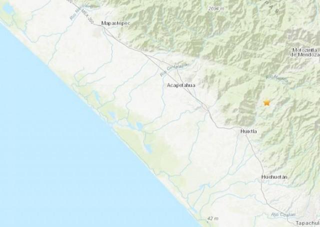 墨西哥南部地区发生5.2级地震 震源深度91.3公里