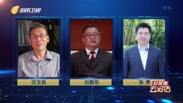 """自贸港""""云""""对话(31):""""零关税 低税率""""释放海南发展新动能"""