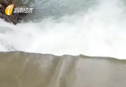 台风接踵而至:3宗水库开闸泄洪 紧绷防汛安全弦