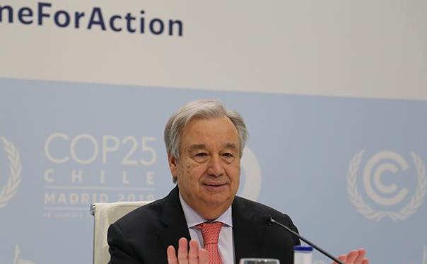 联合国秘书长:要让每个人都有机会接种新冠肺炎疫苗