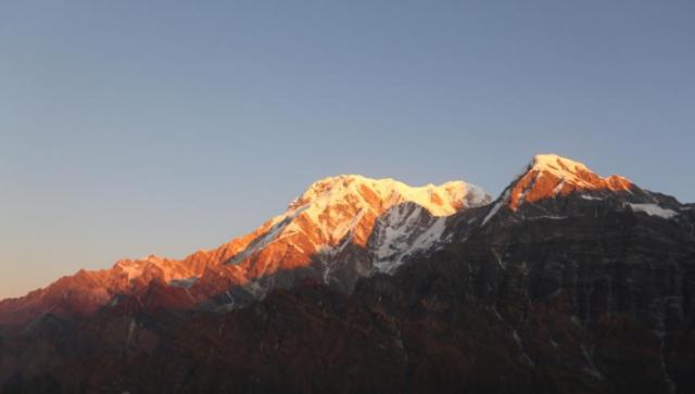 尼泊尔:雪山风光