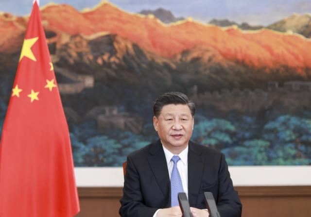 """习近平在二十国集团领导人利雅得峰会""""守护地球""""主题边会上致辞"""