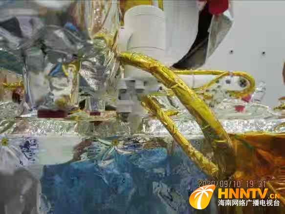 沈阳自动化所研发全景相机转台助力嫦娥五号完成月面探测