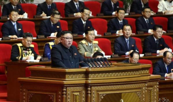 朝鲜劳动党第八次代表大会闭幕