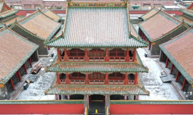 雪后的沈阳故宫