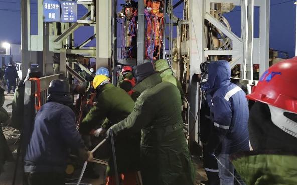 山东笏山金矿救援钻孔完成进尺420米 企业负责人已被控制