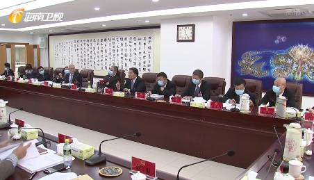 毛万春参加儋州代表团审议时指出 深入贯彻新发展理念 推进各项工作上新台阶