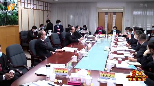 李军参加万宁代表团审议时指出 以发展共享农庄为抓手深入实施乡村建设行动