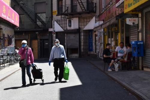 纽约华埠频发针对华人抢劫案件 警方提醒注意防范