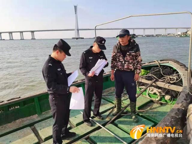 海南省公安厅海岸警察总队第二支队圆满完成元宵节安保工作