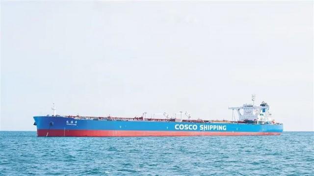 """""""中国洋浦港""""第3艘31.9万吨巨轮入列"""
