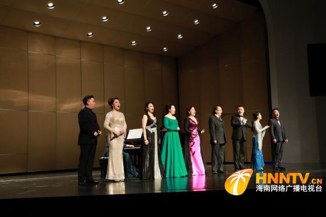 庆祝中国共产党成立100周年  中央歌剧院声乐专场音乐会昨晚唱响海口