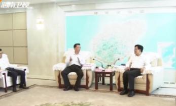 海南省政府分别与中石油 中海油签订战略合作协议 冯飞出席
